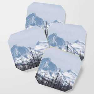 Snow On The Three Sisters Mountains 282 Coasters