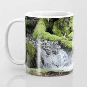 Cascades 646 Pacific Northwest Waterfall Coffee Mug