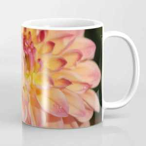 Colors Of The Dahlia Flower Coffee Mug