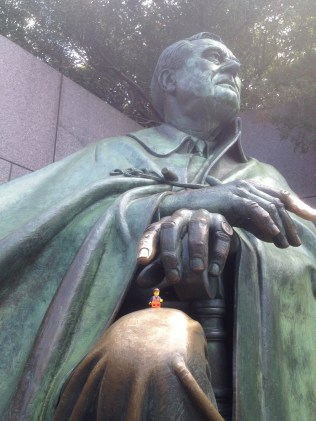 Chatting with President Roosevelt