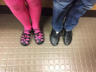 The Little Feet of Irish Step Dancers