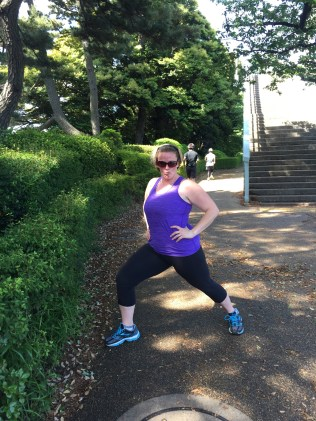Representing the chubby American jogger. You, people of Japan, are welcome.