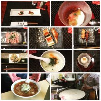 Dinner at Tori Ginza in Tokyo was delectable.
