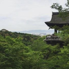 Kiyomizudera Temple.