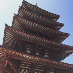 Sumiyoshi-Taisha Shrine.