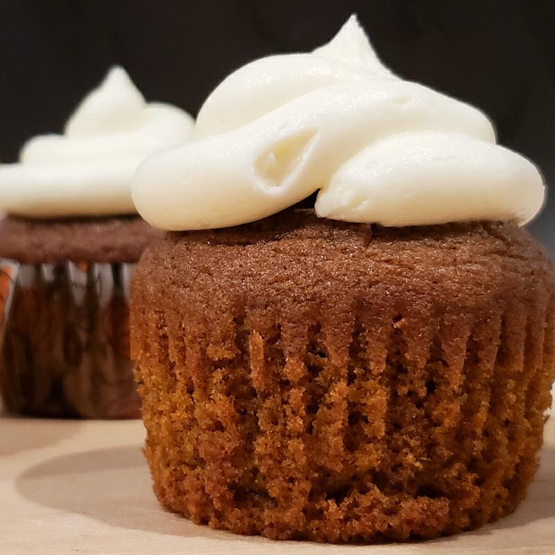 ~Pumpkin Cupcakes~