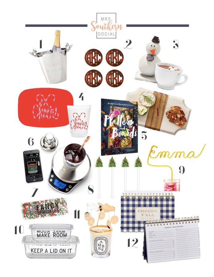 Gift Guide- Hostess with the Mostess