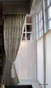 Silent Gliss bay window track