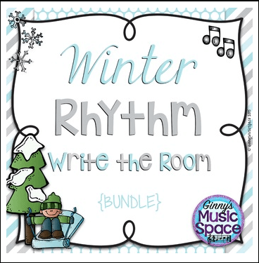 Winter Rhythm Write the Room
