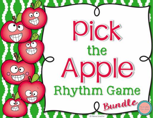 Pick the Apple Bundled Set for practicing rhythm
