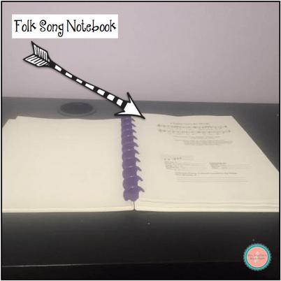 Folk Song Notebook