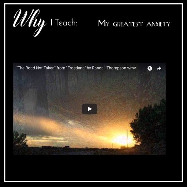 Why I Teach Music – My Greatest Anxiety – MIOSM Part 1