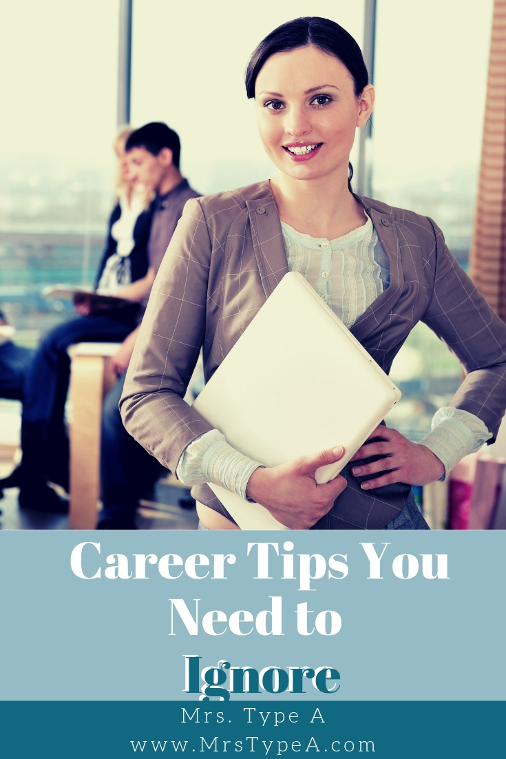 Career Tips You Need to Ignore