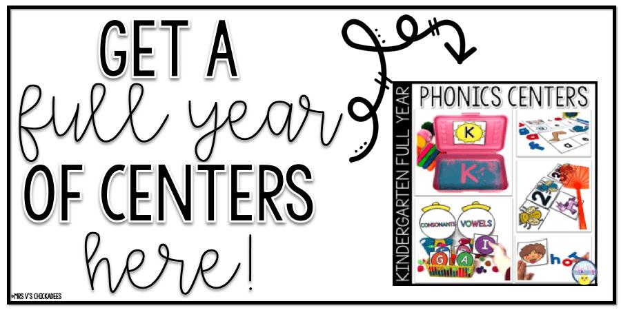kindergarten-phonics-centers