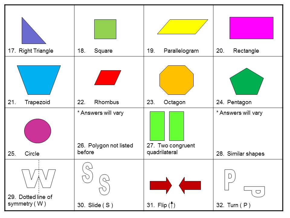 Fun printable math games for 3rd graders