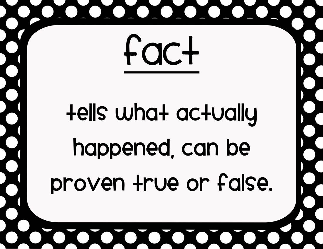 Asking and Giving a Fact