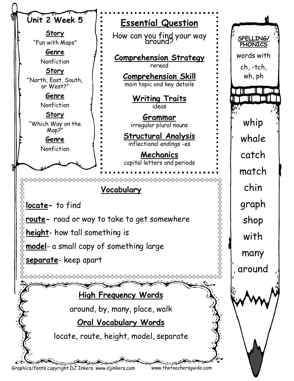 Long U Worksheet Third Grade