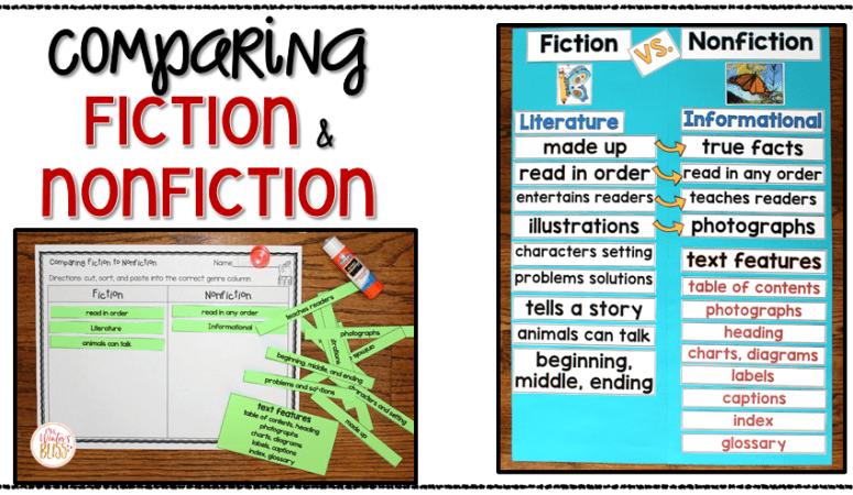 Fiction VS. Nonfiction Teaching Ideas
