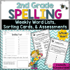 2nd grade spelling assessments word activities