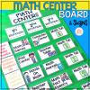 math centers rotation chart
