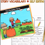 fall writing prompts first grade