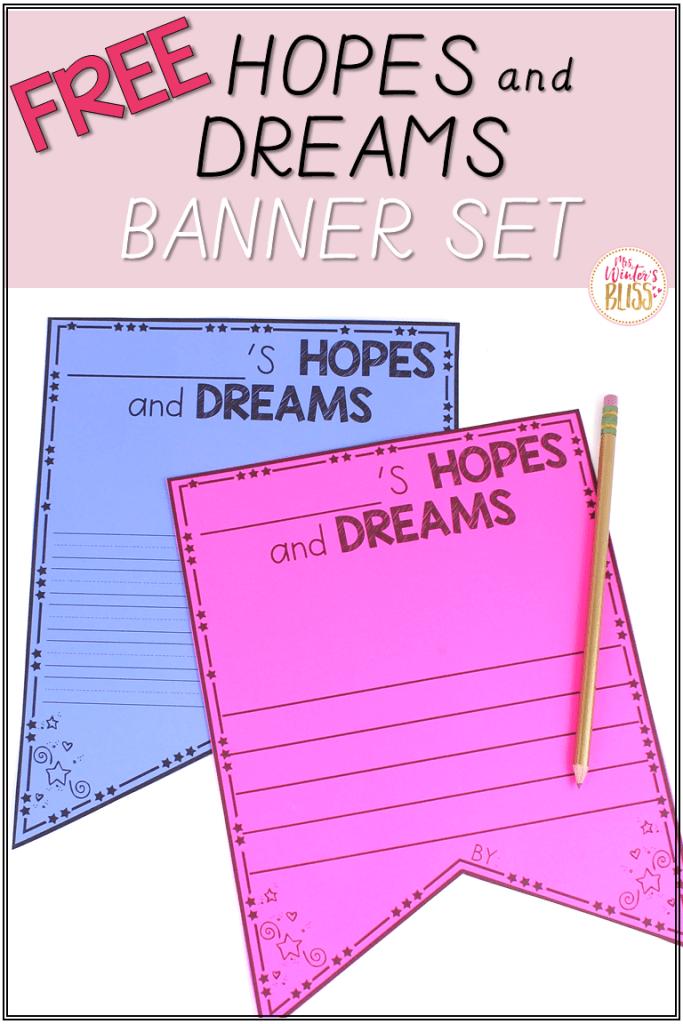 hopes and dreams writing