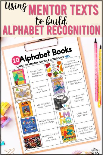 Alphabet letter picture book lists
