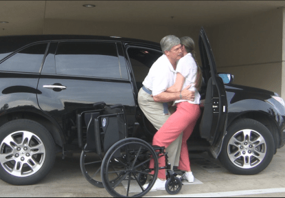 Knee Supported Patient Transfers Allow Greater Weight Transfer