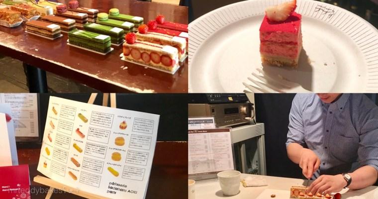 在日本參加甜點活動 – 制霸會