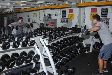 Marine Lifting Dumbbells
