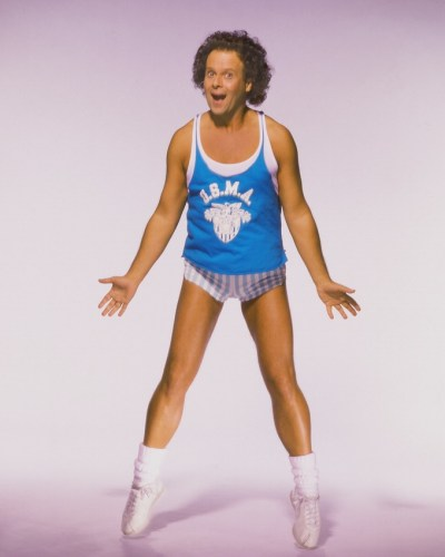 richard simmons fitness photo for 80's