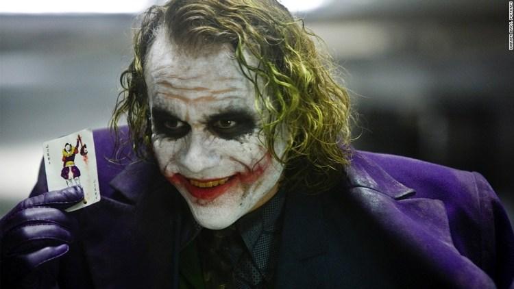 Dark Knight's version of Heath Ledger's Joker