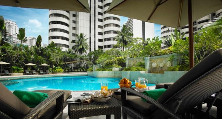 poolside at shangri la Kuala Lumpur
