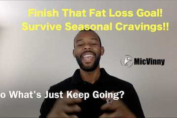 """Finish That Fat Loss Goal! Survive Seasonal Cravings! That's what the book """"Just Keep Going!"""" is about"""