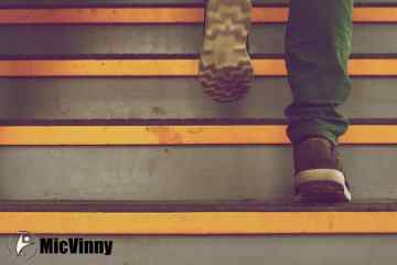 Stair Workout Exercise with MicVinny