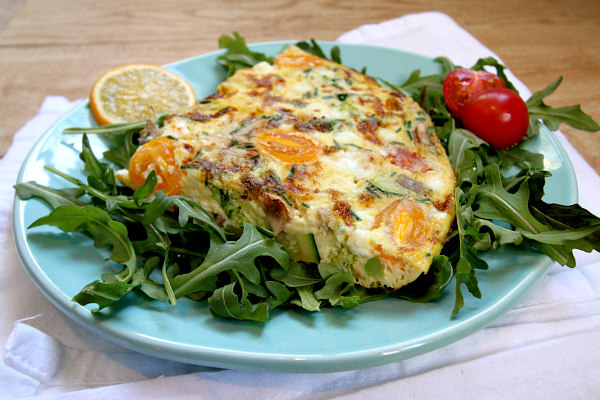 Recipe Girl's Very Vegetable Frittata