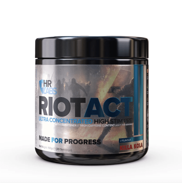HR LABS – RIOT ACT Pre-Workouts 2