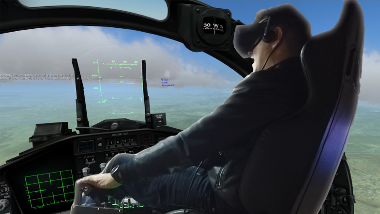 Trying Out DCS & Dirt Rally In A 6DOF Motion Chair - MRTV