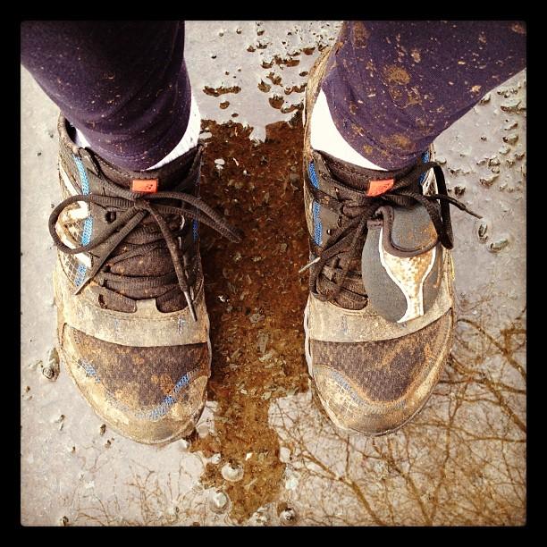 20120211 Muddy running shoes