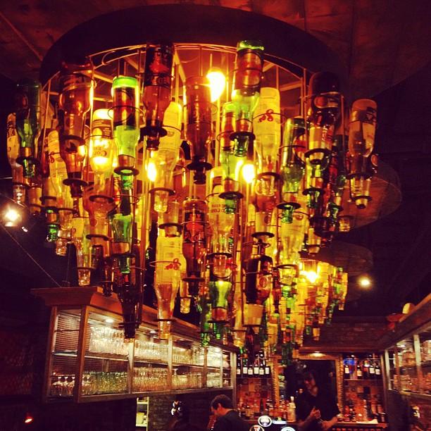 20120217 Beer bottle chandelier
