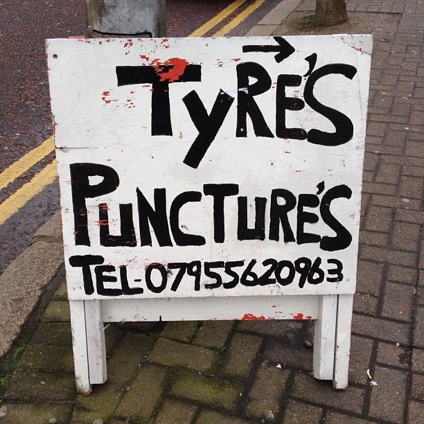 20120217 Tyres Punctures