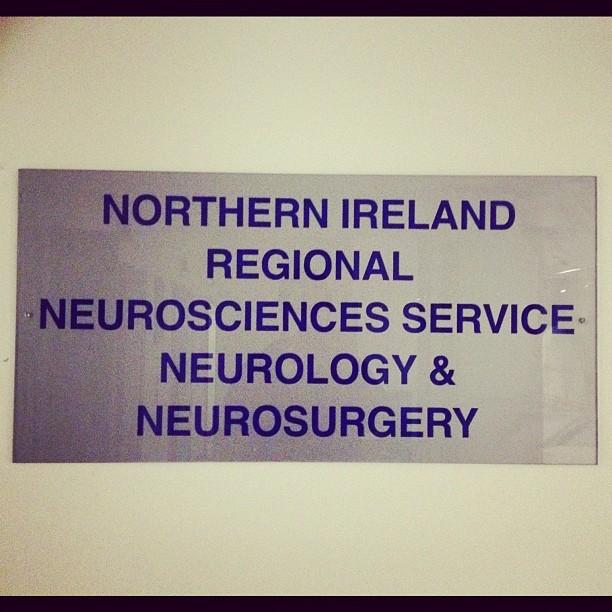 20120306 Northern Ireland Regional Neurosciences Service