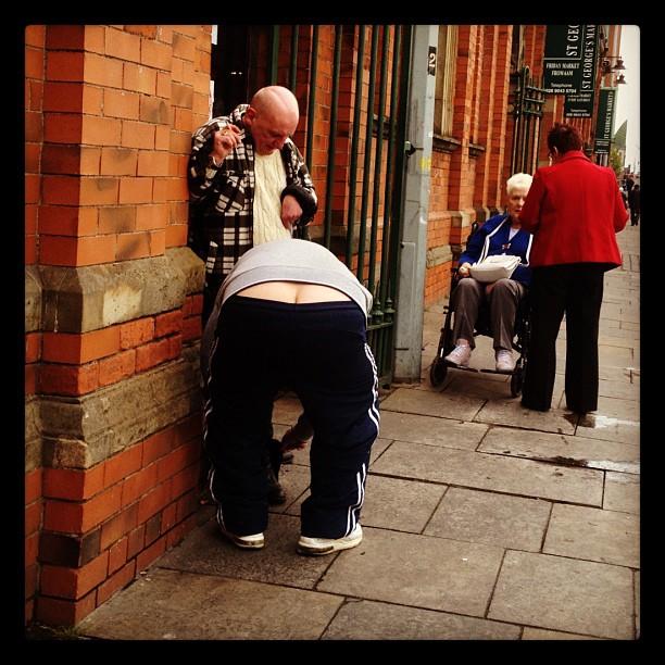20120413 Crack on the pavement