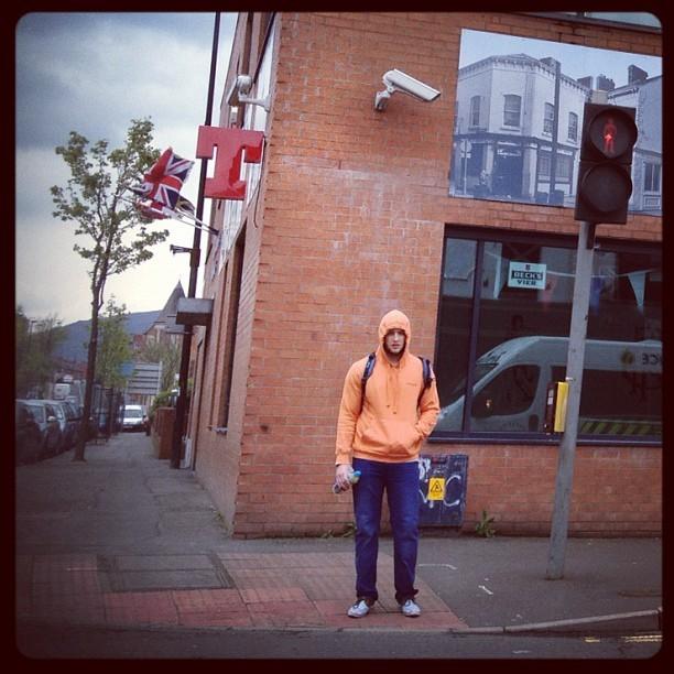 20120425 Orange hoodie