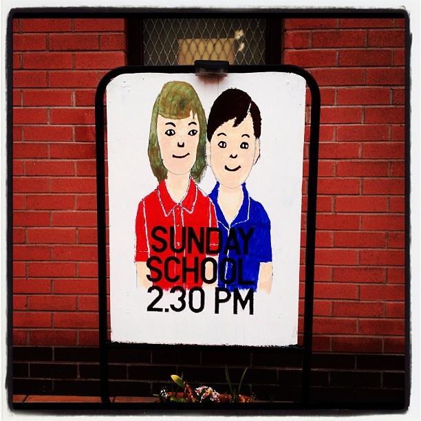 20120504 Sunday school 2.30pm