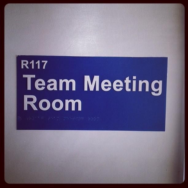 20120509 Team Meeting Room
