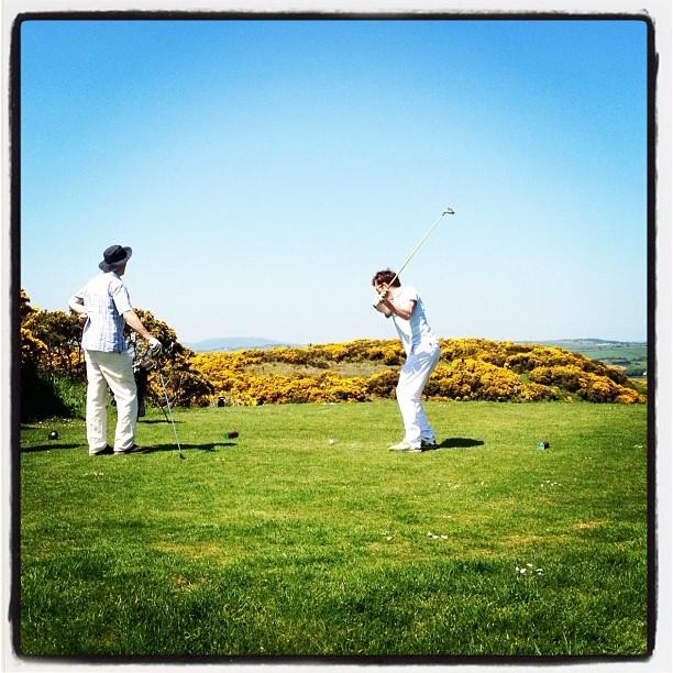 20120527 Scrabo golf