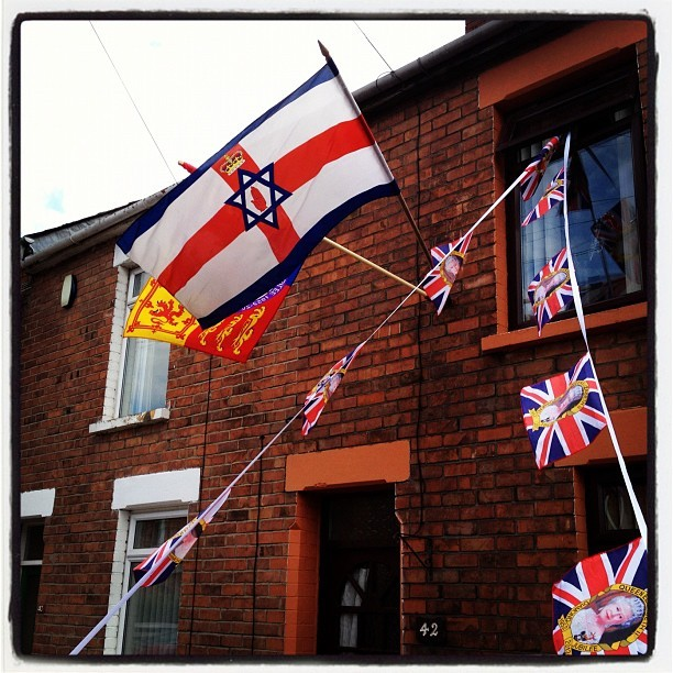 20120601 Ulster Israelism flag