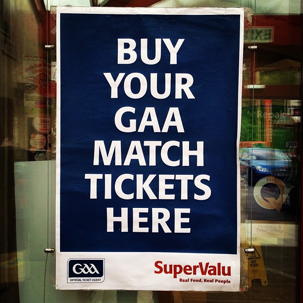 20120824 Buy your GAA match tickets here