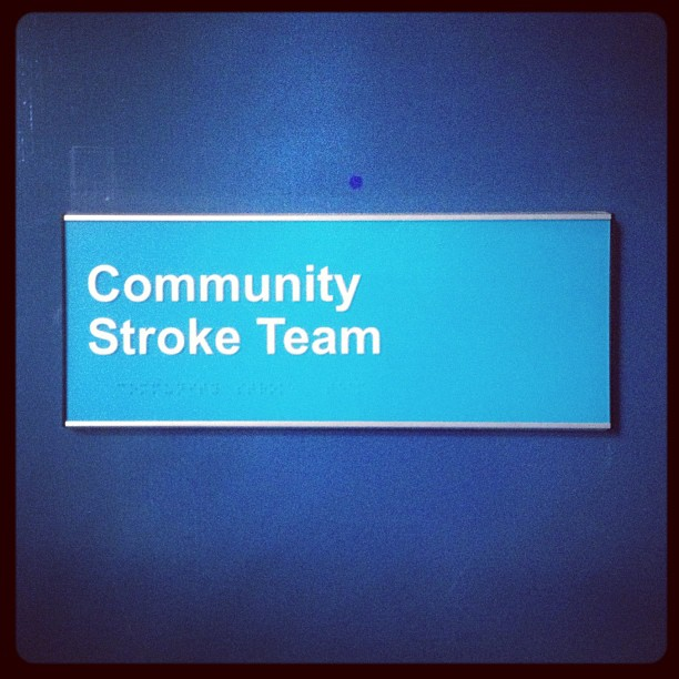 20121114 Community Stroke Team